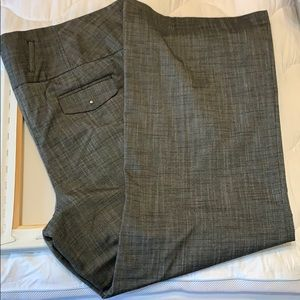 Robert Louis Black Patterned Slacks, 20W